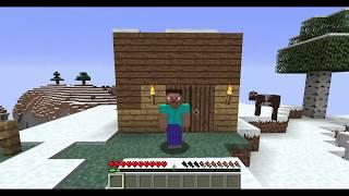 Minecraft выживание в горах: не понял как крафтить седло.