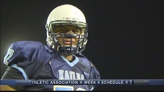 Hawaii Strong: Kailua offensive tackle Sione Veikoso