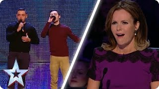 Brothers perform ICONIC AUDITION | Britain
