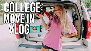 COLLEGE MOVE IN VLOG // senior year