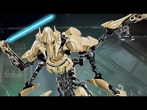LET'S BUILD! - Lego STAR WARS - 75112: General Grievous