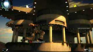 Just Cause 2 PC -  Casino Attack And Getaway Gameplay - Maxed Out -  Part 1 - HD