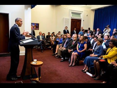 The President Speaks to Democratic State Legislators