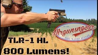 Streamlight TLR-1 HL 800 Lumen Light Review (HD)