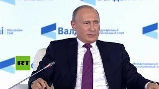 """Putin: """"Es Arabia Saudita quien debe tener miedo por la llegada de EE.UU. con su"""