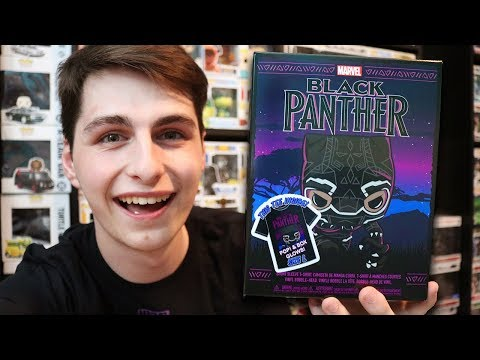 Black Panther Funko Pop Collector Box!