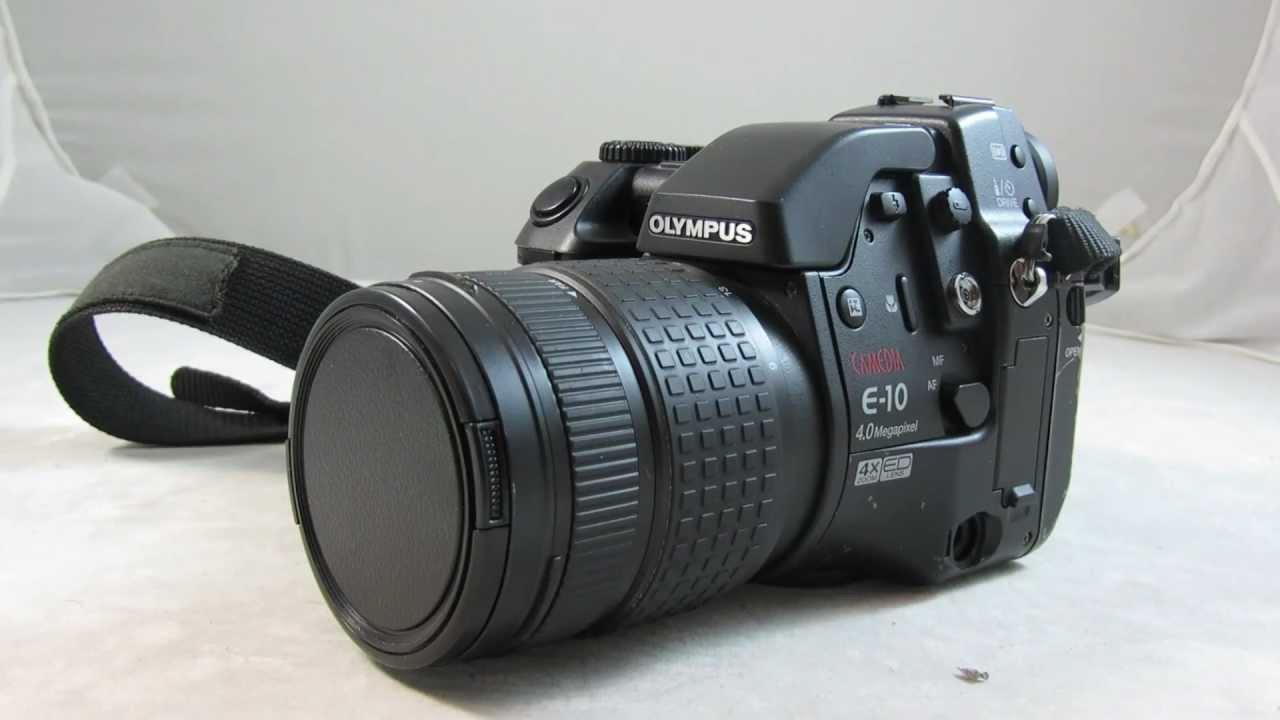 olympus camedia e 10 4 0mp slr camera review tutorial youtube rh youtube com Nikon DSLR Cameras Olympus Camedia Camera