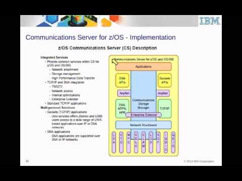IBM Academic Initiative z/OS Communication Server, TCP/IP, V