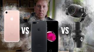 iPhone 7 Plus VS Dji Osmo [ 4K ][ 30fps ]