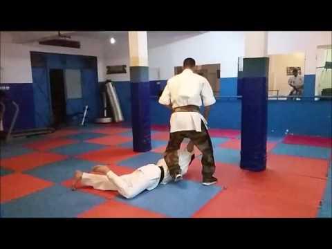 Taï fu - kénitra maroc -Automatique Gun defense forme 3rd form -Morocco Martial Art-street fight