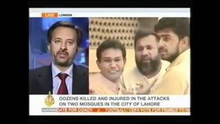Ahmadiyya Mosques Lahore Attack - Al-Jazeera TV persented by khalid - QADIANI.flv