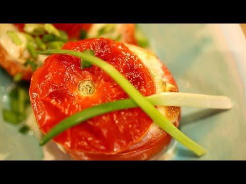 Рецепт недели: омлет в помидоре