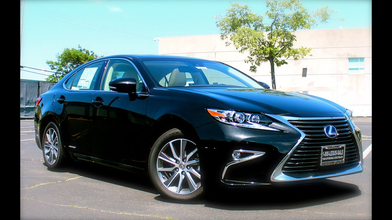 2016 lexus es300h walkaround exterior interior youtube. Black Bedroom Furniture Sets. Home Design Ideas