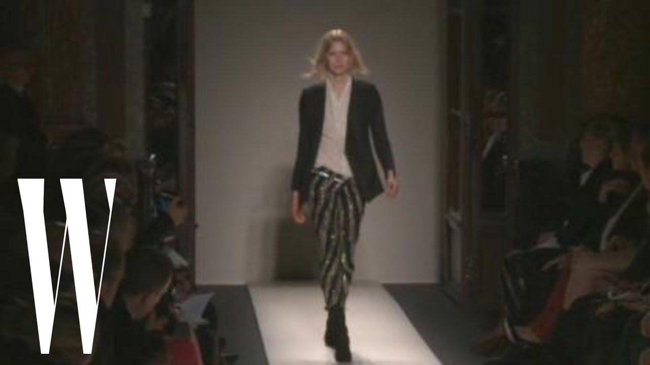 4bbb81c7 Balmain Fall 2011 - runway fashion show - W Magazine - YouTube