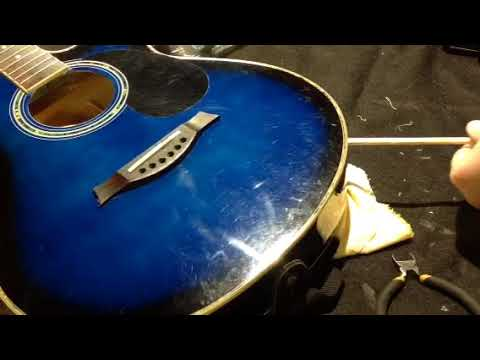acoustic guitar output jack repair youtube. Black Bedroom Furniture Sets. Home Design Ideas