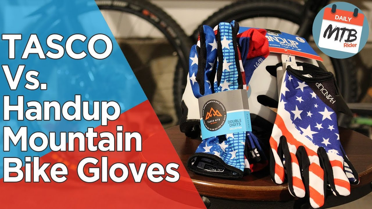 Top 2 Mountain Bike Glove Company Showdown - TASCO vs  Handup - Which is  Really Better?