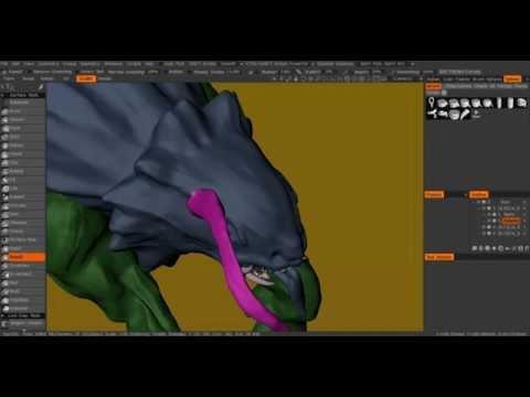 3D Coat Creature Sculpting