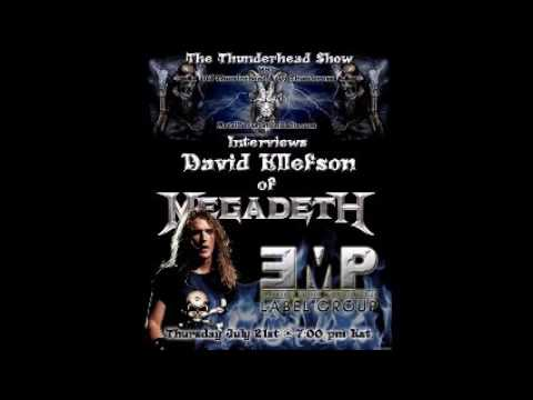 Megadeth 2016 Interview Metal Devastation Radio