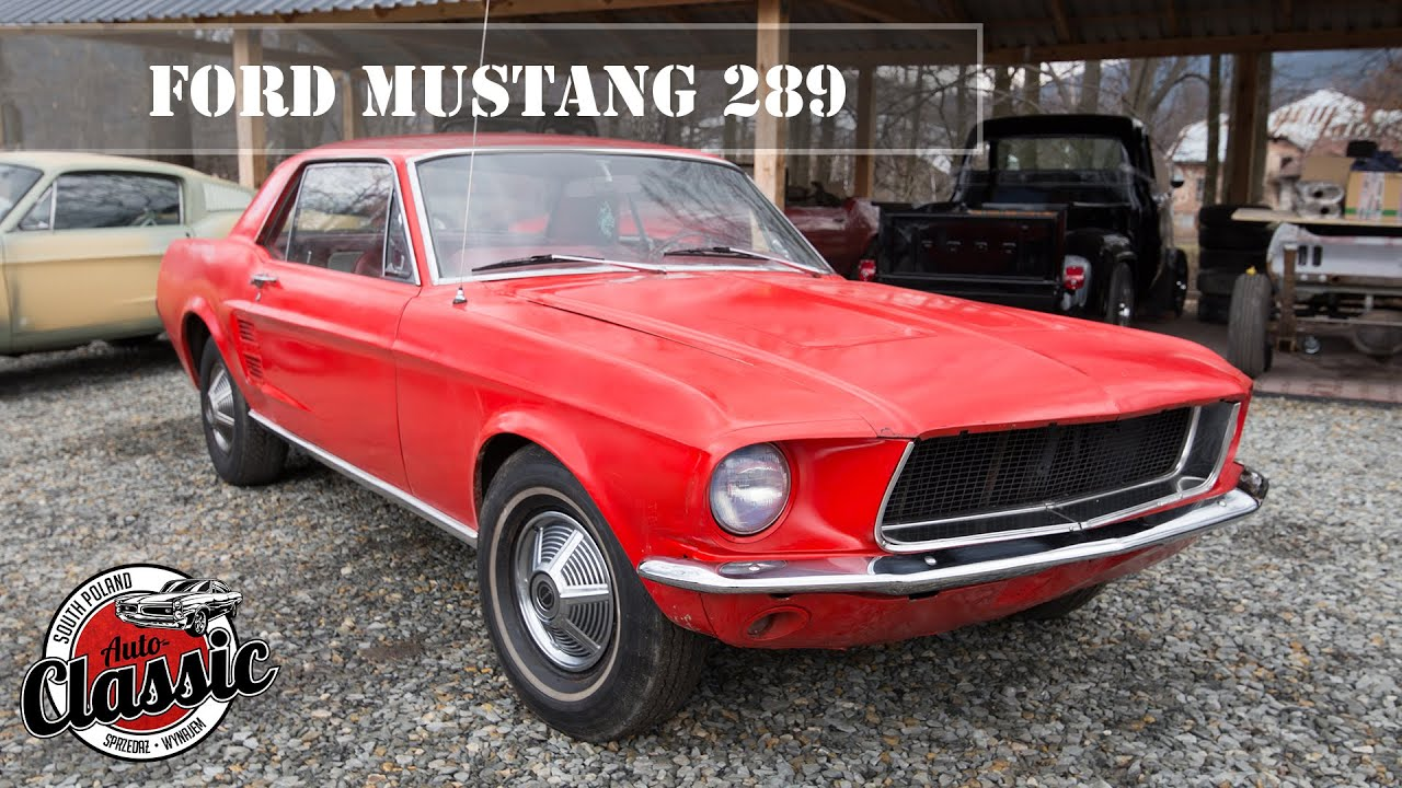 Ford mustang 289 z 1967r aut classic