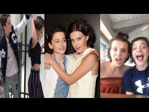 Millie Bobby Brown And Noah Schnapp Being Cute Together For 10 Minutes Straight