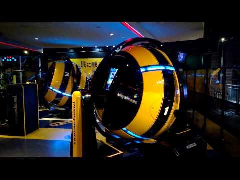 Joypolis Tokyo R360 Part 3 - YouTube