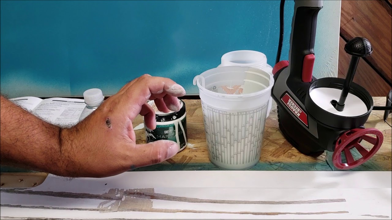 harbor freight kraus & becker electric paint sprayer DIY how to