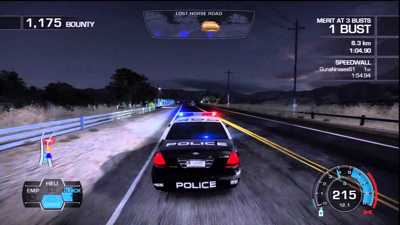 Police Car Chase Wallpaper Need For Speed Hot Pursuit Ps3 Demo Police Chase Youtube