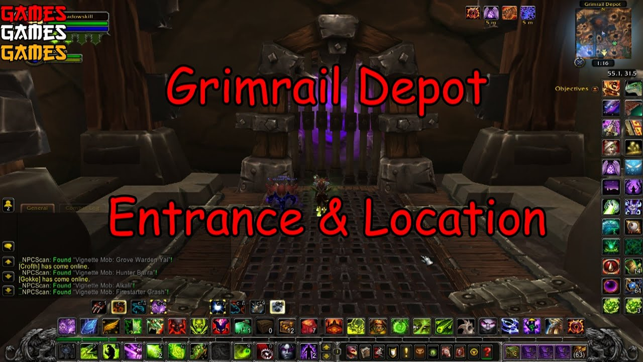 grimrail depot dungeon entrance and location youtube. Black Bedroom Furniture Sets. Home Design Ideas