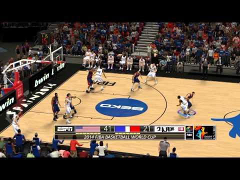 NBA2K14 FIBA USA vs FRANCE