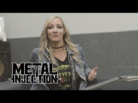 NITA STRAUSS On What People Don't Know About Her & 9 More Personal Questions | Metal Injection
