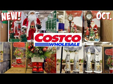 COSTCO * NEW CHRISTMAS DECORATIONS SHOPPING * SHOP WITH ME 2019