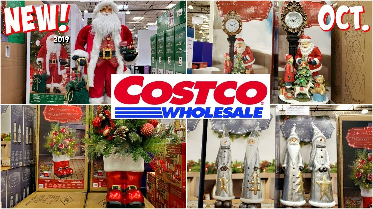 Costco Christmas Gifts 2020 COSTCO * NEW CHRISTMAS DECORATIONS SHOPPING * SHOP WITH ME 2019