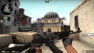 cs go ak 47   elite build factory new gameplay
