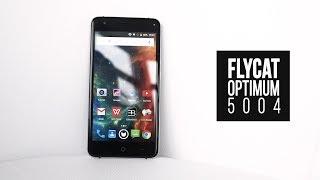 Беглый взгляд на  Flycat Optimum 5004 (белорусский смартфон)