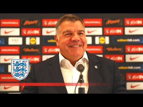 Sam Allardyce's first press conference as England manager | FATV News