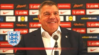 Sam Allardyce's first press conference as England manager | FATV News
