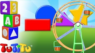 TuTiTu Preschool | Learning Shapes for Babies and Toddlers | Ferris Wheel