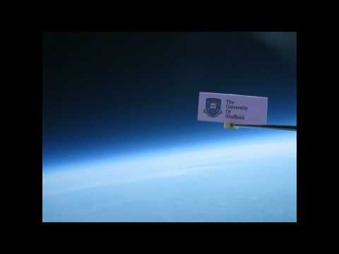 The University of Sheffield - The Edge of Space project 2011
