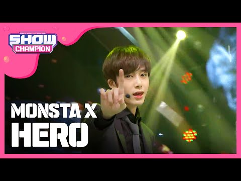 (ShowChampion EP.165) Monsta X - HERO (몬스타엑스 - HERO)