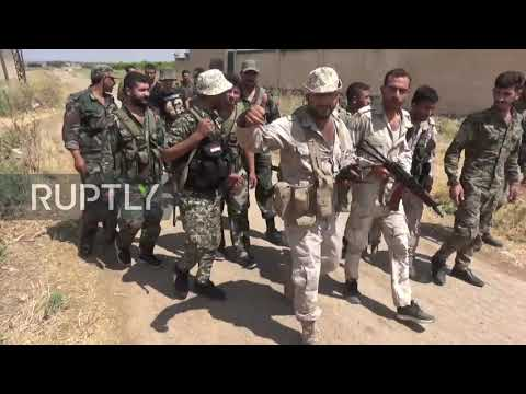 Syria: Fighting nears