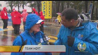 Dick Hoyt: Worst Boston Marathon Weather I've Ever Seen