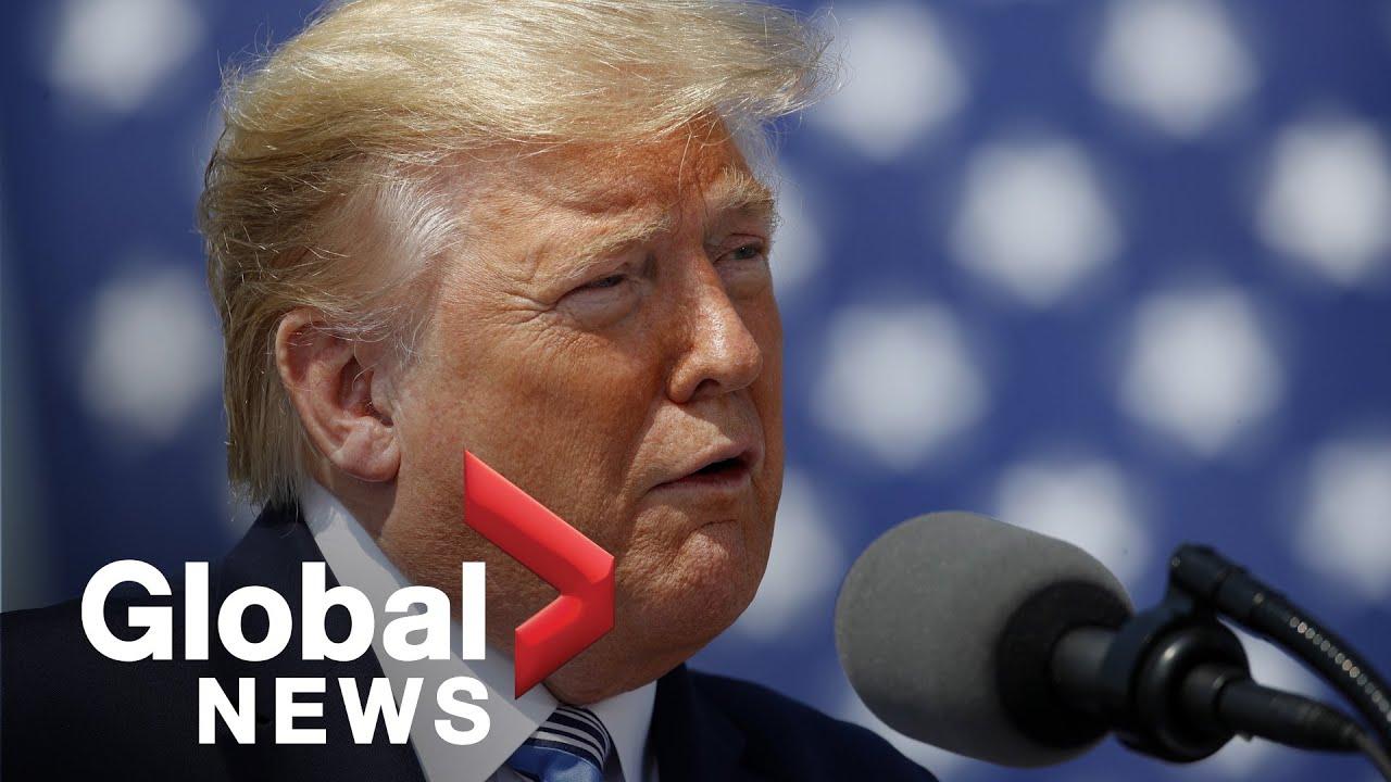 Coronavirus outbreak: Trump says he may quarantine New York, New Jersey and Connecticut