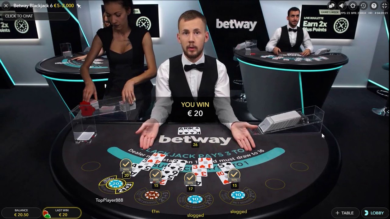Live BlackJack - 50€ to 420€ in 10 Minutes - Nice Side Bet Win