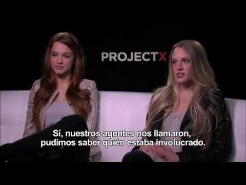 Entrevista KIRLY BLISS BLANTON y ALEXIS KNAPP - Project X