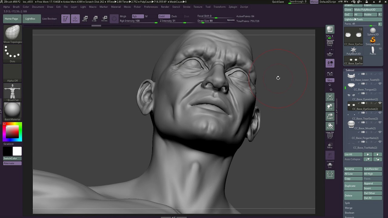 Crystal Bretz uses Character Creator 3 to model and animate