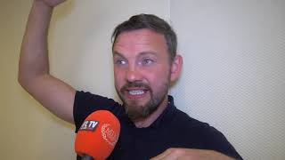 'SECOND ROUND, PUT THE HOUSE ON IT' - ANDY LEE SHARES FURY'S PREDICTION ON AN EARLY STOPPAGE WIN