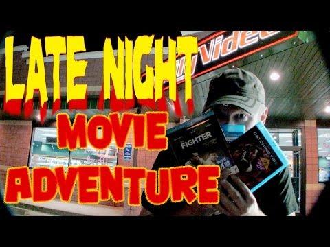 Movie Adventure - Late Night Family Video!!!