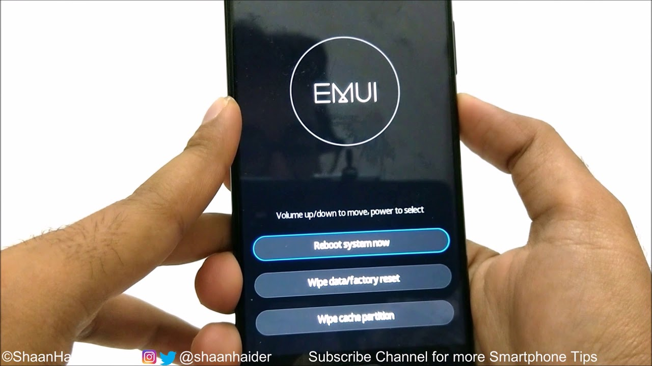 huawei how to change password