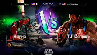 Top 8 Finals ▷ Combo Breaker 2018 - Killer Instinct - Storm179 (Hisako) vs Devilmaycare (TJ Combo)