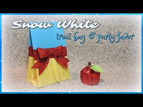 Snow White Treat Bag & Party Favor